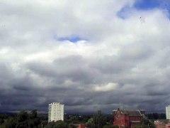 Time Lapse rain clouds