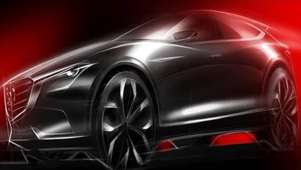 New Mazda Crossover Concept to be Unveiled at Frankfurt