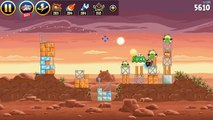 [Let's Play Baby Games] Angry Birds Game Angry Birds Star Wars Walkthrough Levels 1 9