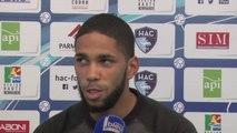 Avant Paris FC - HAC, itv Jérôme Mombris