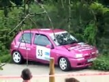 Rally crash compilation part 9 Special French cars Renault and peugeot