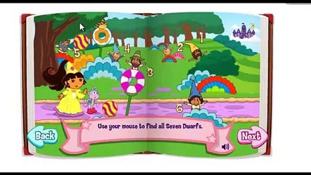 Dora The Explorer Dora's Fairytale Fiesta Game video 01