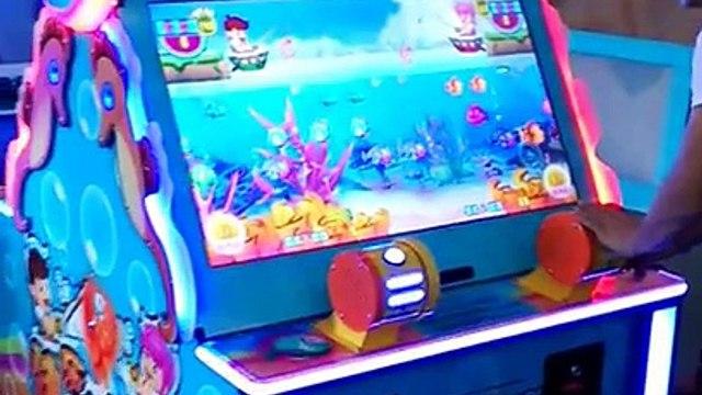 (kids)video game machine-Happy fishing