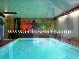 Quintal, lac d'Annecy, location d'un gite de vacances avec piscine intérieure. Pour 2/4 personnes