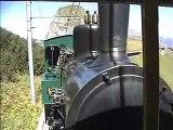 Swiss Narrow Gauge Steam Train: Caux-Rochers de Naye