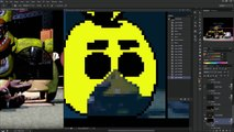 ► SPEEDPAINT   the end   Five Nights at Freddy's 3   Pixel art animation