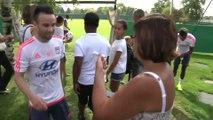 Foot - L1 - OL : Les premières images de Valbuena à l'entraînement