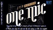 [Vietsub + Kara - 2ST] Don't Leave Me - JYP Nation @ JYP Nation Korea 2014 'One Mic'