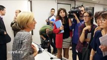 """Rosa Díez: """"Necesitamos su ayuda para poder seguir llevando ante los tribunales a los corruptos"""""""
