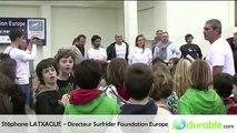 Stephane Latxague présente les initiatives océanes de Surfrider