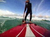 GoPro Hero Wide Stand Up Paddleboard Session 1 YOLO SUP Destin FL Surf Surfing Longboard