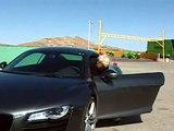 Aston Martin V8 Vantage vs Audi R8 vs Porsche 911 Turbo