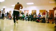 B Boy Q90 - Break Dancers - Break Dance Battle - Best Shot Footage - HD Stock Footage