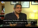 AAJ Rana Mubashir kay sath 14th August 2015 Clip 1
