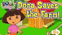 Dora the Explorer Episodes for Children in English 2014 HD Dora Saves The Farm Nick jr Kids