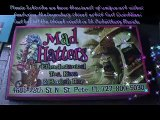 Carl Quintiliani with 100% Street  Credit Performs art show @ Mad Hatters hookah tea bar in St Pete5