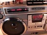Vintage SHARP GF-9292 Boombox Ghetto Blaster Radio NICE!
