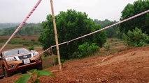Trải nghiệm xe bán tải Nissan Navara NP300 tại Đồng Mô - Autovina