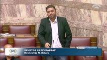 Χατζησάββας: Το Μνημόνιο είναι επείγον για τους τραπεζίτες και τις μαριονέτες τους