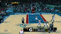 NBA 2K13 MyTeam I Gerald Wallace Dunks Over Four People!