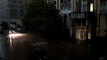 Orages: de fortes pluies sur Bruxelles
