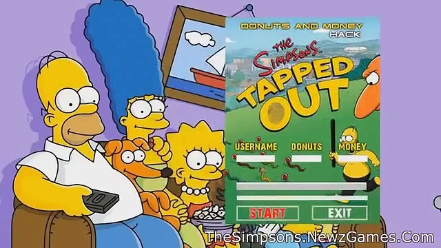 Simpsons Tapped Out Hack Cheats - Simpsons Tapped Out Donut Hack [Unlimited Donuts] (January 2015)