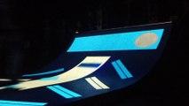 À Nantes, une rampe de skate sonore, tactile et interactive