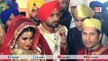 Grand Wedding Ceremony Of Harbhajan Singh And Geeta Basra