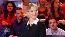 Avec Léa Seydoux, Le petit journal se moque de... Laurent Delahousse
