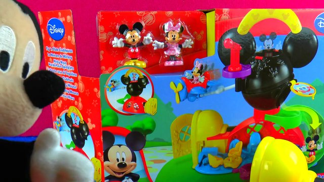 Mickey Mouse Play Around Clubhouse Toy Mickey and Minnie Adventures in Wonderland Episode