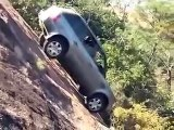 Range Rover Sport + Land Rover Discovery extreme steep climbing
