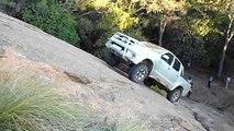 Toyota extreme hill climb / rock crawl
