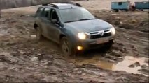 Dacia Duster Test - 4x4 SUV off road drive