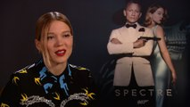 Exclusive Interviews: Dave Bautista and Lea Seydoux claim they're more than a match for James Bond