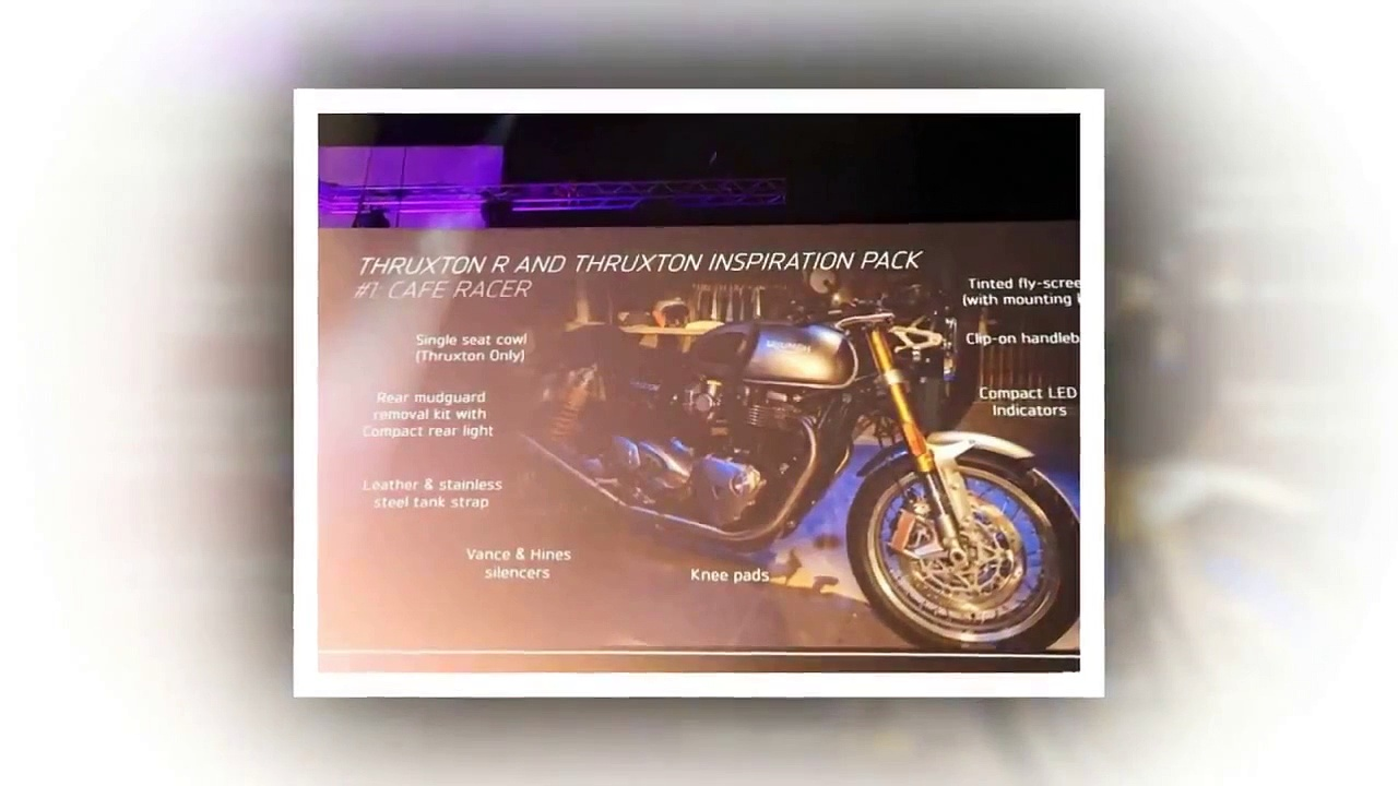 Triumph Thruxton 2016!!!