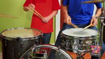 Fun with Drums   WITH BLOOPERS!   Show Me How Parent Video