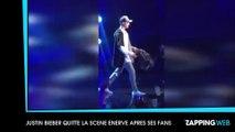Justin Bieber : Très énervé après ses fans, il met fin à son concert après une seule chanson !