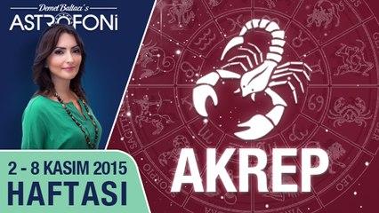 AKREP haftalık yorumu 2-8 Kasım 2015
