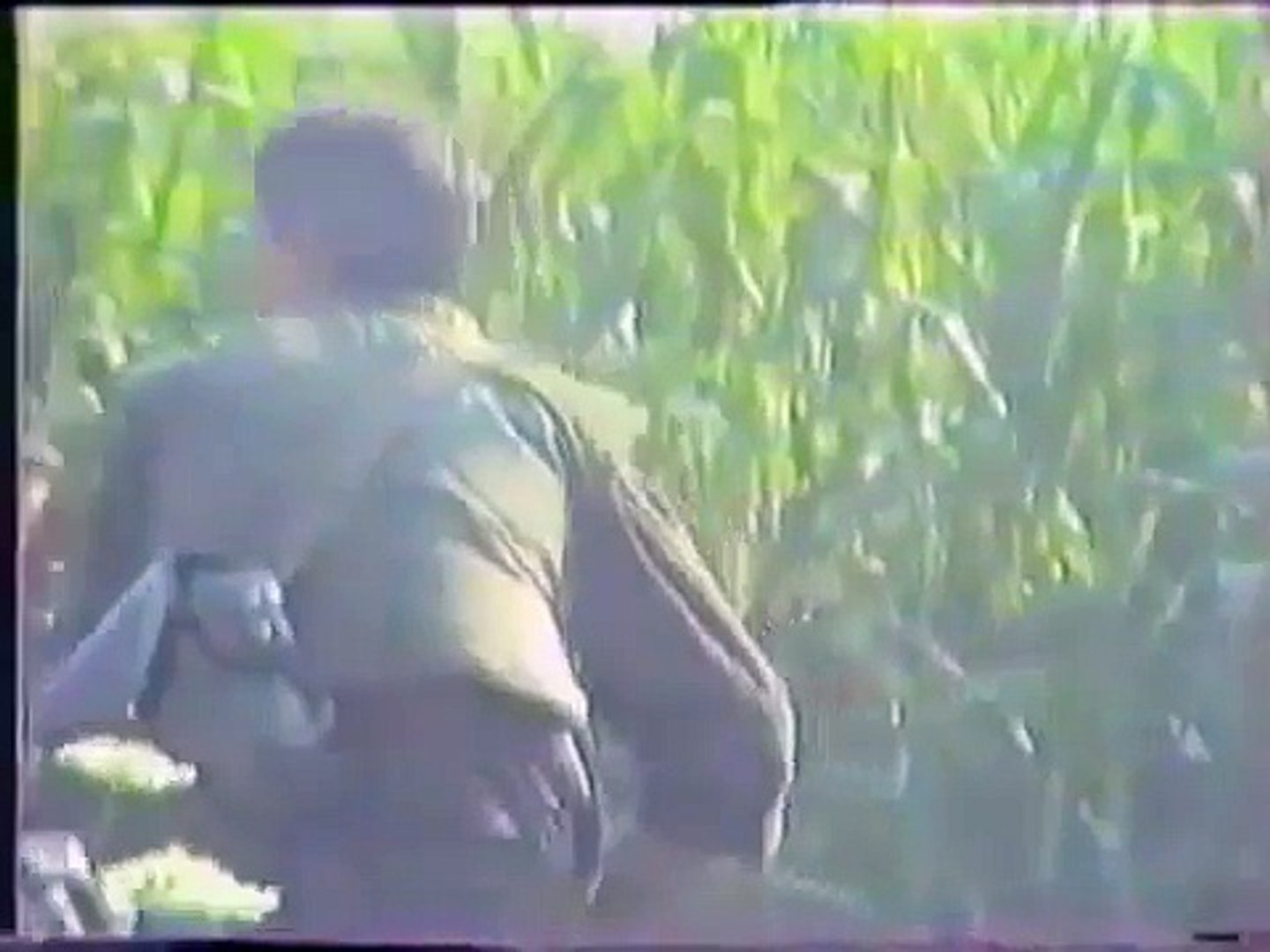 Bosnian Army On The Frontlines In Heavy Intense Combat Action