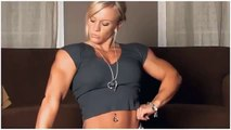 BodyBuilding Babes - Massive Blonde Muscle Show