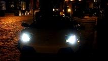 Loud Lamborghini LP640 in NYC At Night - Start Ups and Driving