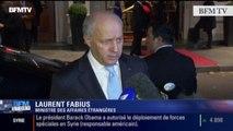 TextO' : Bachar el-Assad - Laurent Fabius : «Il n'est pas question qu'il soit le futur de la Syrie»