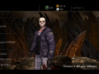 MKX : Défi Jason Voorhees Infatigable — Mortal Kombat X