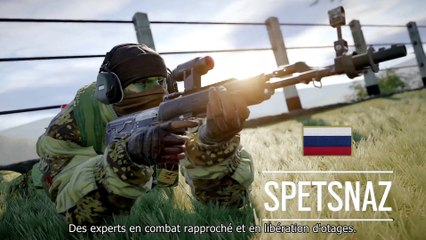 Trailer Spetsnaz de Tom Clancy's Rainbow Six : Siege