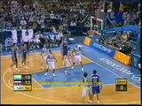 ATENAS 2004 BASQUET 1-Argentina 83 vs Serbia y Montenegro 82 Ginobilli