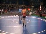 Parker Madl KS vs Kendrick Sanders FL 2009 Fargo FS Wrestling 152lbs