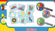 Curious George - Big Picture Full Episodes Educational Cartoon Game