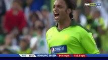 Shoaib Akhtar Running Wild on David Hussey