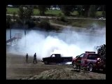 Pickup burning rubbers