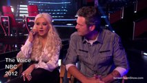 Christina Aguilera and Blake Shelton Interview HD - The Voice